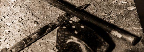 Herramientas utilizadas por el tallista para labrar la piedra.